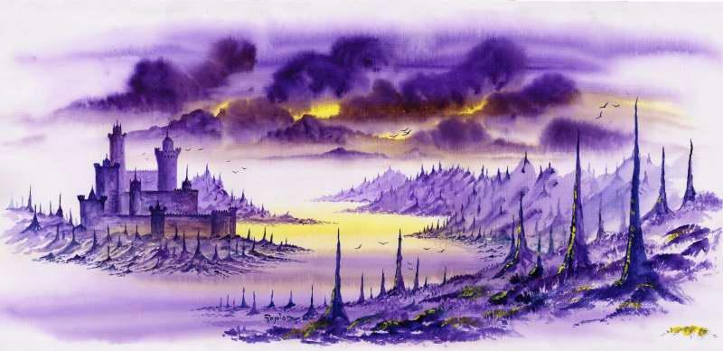 Escape from Gemworld [Red Robin] No25_Purple_castle_1